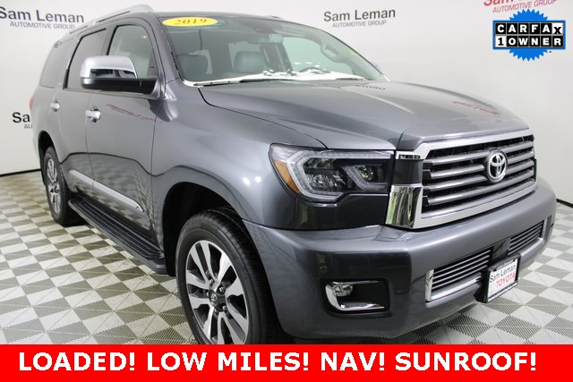 Pre-Owned 2019 Toyota Sequoia Limited