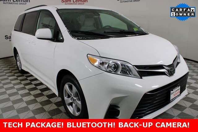 Pre-Owned 2020 Toyota Sienna LE