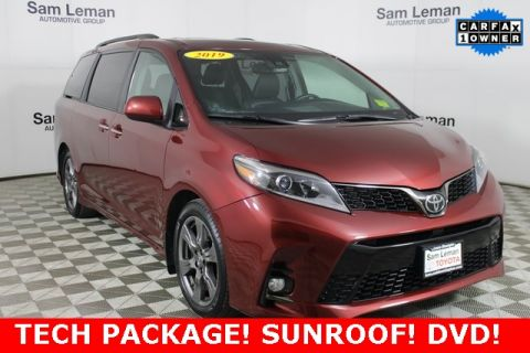 Pre-Owned 2019 Toyota Sienna SE Premium